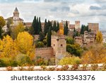 Landscape View Of Alhambra...