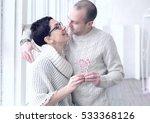 happy couple in love | Shutterstock . vector #533368126