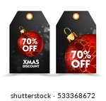 set of price tag with... | Shutterstock .eps vector #533368672