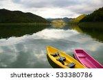 Kayak Boat On Lake  Srinagarin...