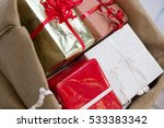 christmas gifts. | Shutterstock . vector #533383342