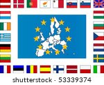 european union flag | Shutterstock .eps vector #53339374
