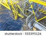 offshore works. working... | Shutterstock . vector #533395126