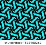 vector seamless pattern. modern ... | Shutterstock .eps vector #533400262