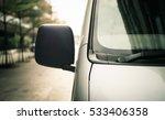 close up van parking | Shutterstock . vector #533406358