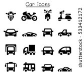 car icons | Shutterstock .eps vector #533412172