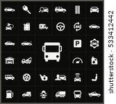 auto icons universal set for... | Shutterstock . vector #533412442