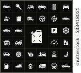 auto icons universal set for... | Shutterstock . vector #533418025