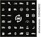 auto icons universal set for... | Shutterstock . vector #533418052