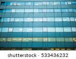glass windows of modern office... | Shutterstock . vector #533436232