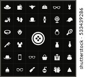 button icon. accessories icons... | Shutterstock . vector #533439286