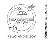traveling horizontal banner... | Shutterstock .eps vector #533450416
