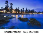 Beach Front Of Bay Line At...