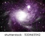 stars of a planet and galaxy in ... | Shutterstock . vector #533465542