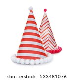 party hats on white background | Shutterstock . vector #533481076