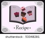 recipe design | Shutterstock .eps vector #53348281