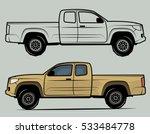 off road vehicle  vector... | Shutterstock .eps vector #533484778