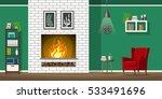 illustration of interior... | Shutterstock .eps vector #533491696