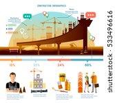 construction infographics  big... | Shutterstock .eps vector #533496616