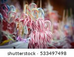 traditional christmas candy... | Shutterstock . vector #533497498