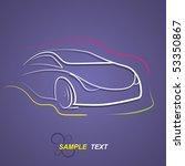 car | Shutterstock .eps vector #53350867