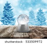 xmas snow ball | Shutterstock . vector #533509972
