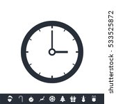 clock icon | Shutterstock .eps vector #533525872