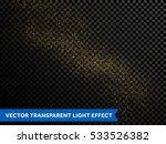 vector golden glitter wave... | Shutterstock .eps vector #533526382