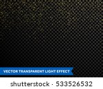 festive falling shiny particles ... | Shutterstock .eps vector #533526532