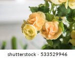 Plastic Flowers For Decoration...