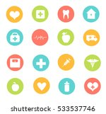 medical icon set   Shutterstock .eps vector #533537746