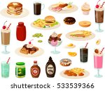 vector illustration of various... | Shutterstock .eps vector #533539366