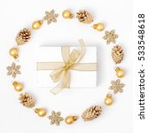 christmas or new year...   Shutterstock . vector #533548618