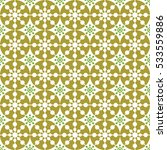 vector seamless snowflakes... | Shutterstock .eps vector #533559886