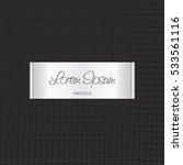 elegant tag illustration label...   Shutterstock .eps vector #533561116