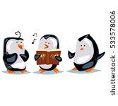 caroling illustration with...   Shutterstock .eps vector #533578006