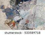 original oil colors and liquin... | Shutterstock . vector #533589718
