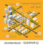 building 3d industry... | Shutterstock .eps vector #533593912