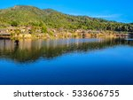 landscape mountains   river | Shutterstock . vector #533606755