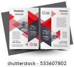 flyer brochure design  business ... | Shutterstock .eps vector #533607802