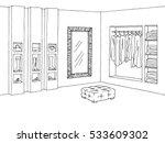 shop interior. graphic black... | Shutterstock .eps vector #533609302