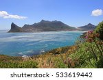 view on hout bay on the cape... | Shutterstock . vector #533619442