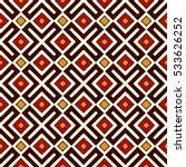 seamless pattern in christmas... | Shutterstock .eps vector #533626252