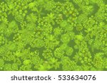 seamless pattern. jungle top... | Shutterstock .eps vector #533634076