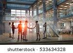business partners handshake ....   Shutterstock . vector #533634328
