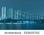 cityscape. bangkok night view... | Shutterstock . vector #533635762
