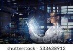 innovative technologies in... | Shutterstock . vector #533638912
