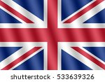 flag of the great britain | Shutterstock . vector #533639326