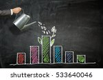 invest your money to get income ...   Shutterstock . vector #533640046