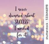 inspirational motivating quote... | Shutterstock . vector #533646898